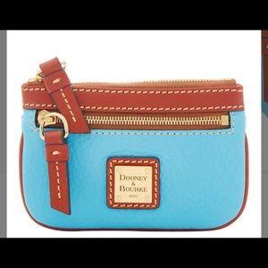 NWT Dooney & Burke Sky blue purse